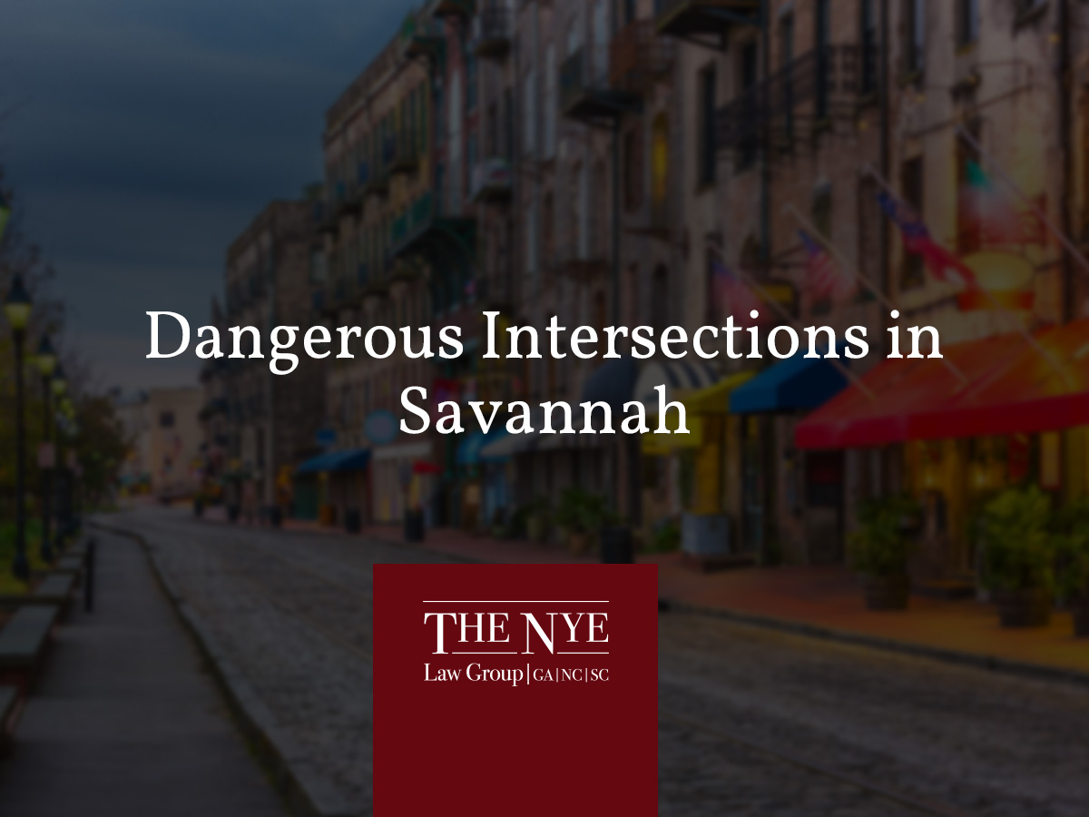 Dangerous Intersections in Savannah